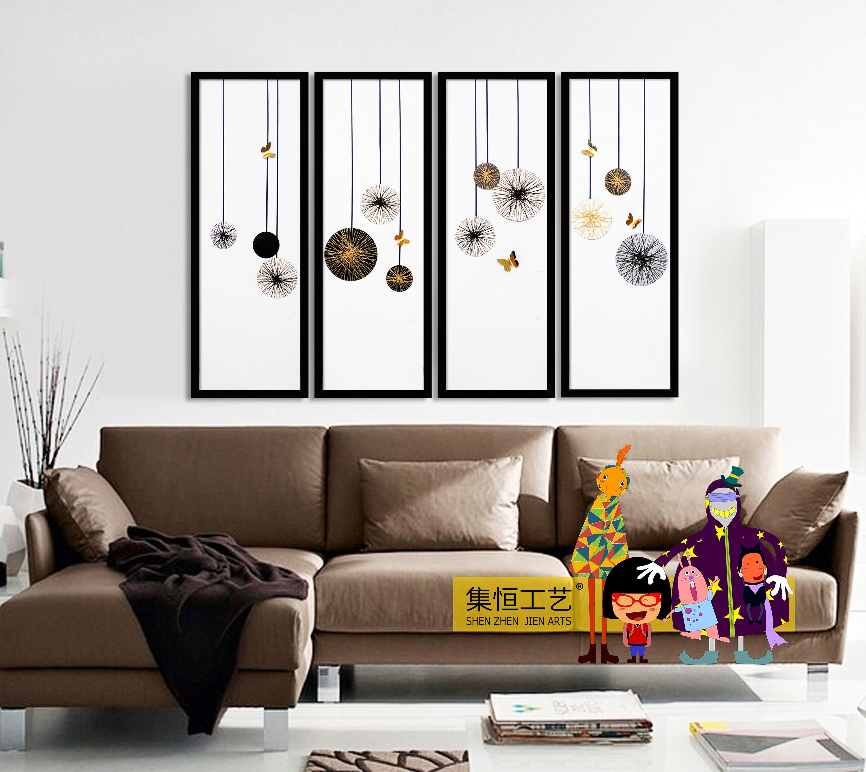 JIEN ARTS 2016 ORIGINAL DECORATIVE PAINTING 集恒工艺 . 装置画http://www.jhgy.cc 洪小姐:18129915597 Q:2880084655