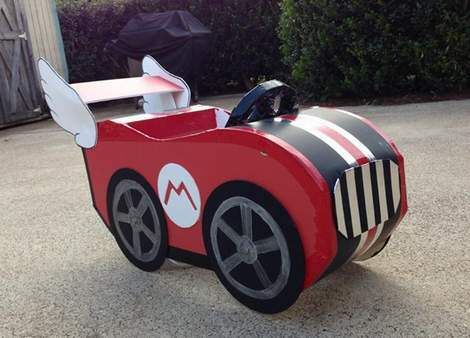 DIY mario cart 01 · Mario Kart CostumesMario ... & DIY mario cart 01 | Frankieu0027s Board | Pinterest | Costumes ...