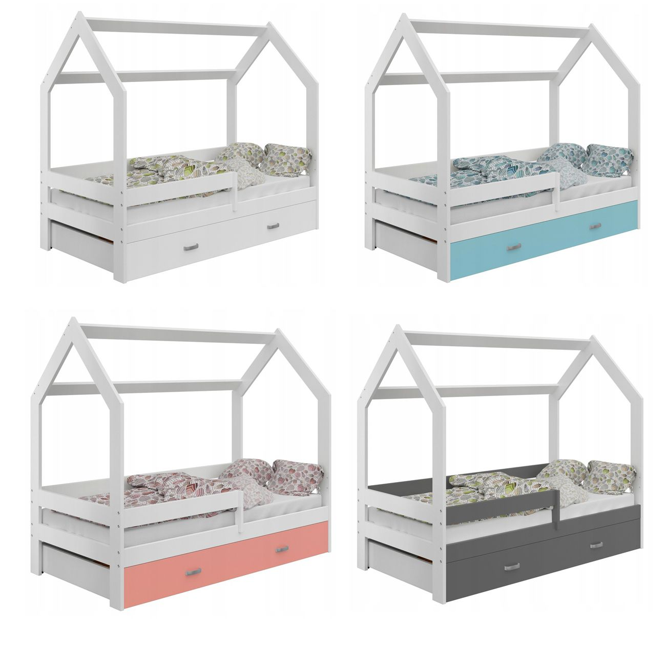 Kinderbett In Schonen Farbkombinationen Geeignete Matratzengrosse 80x160 Cm Liegeflache 160x80 Kinderbett 160x80 Bett Mit Lattenrost Bett Matratze