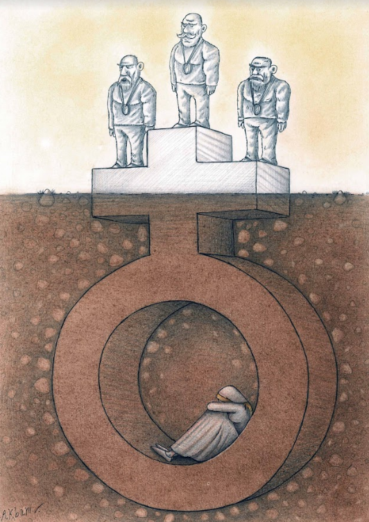 Gender Equality And Equal Rights International Cartoon Contest By Toons Mag Feminism Art Gender Equality Art Feminist Art