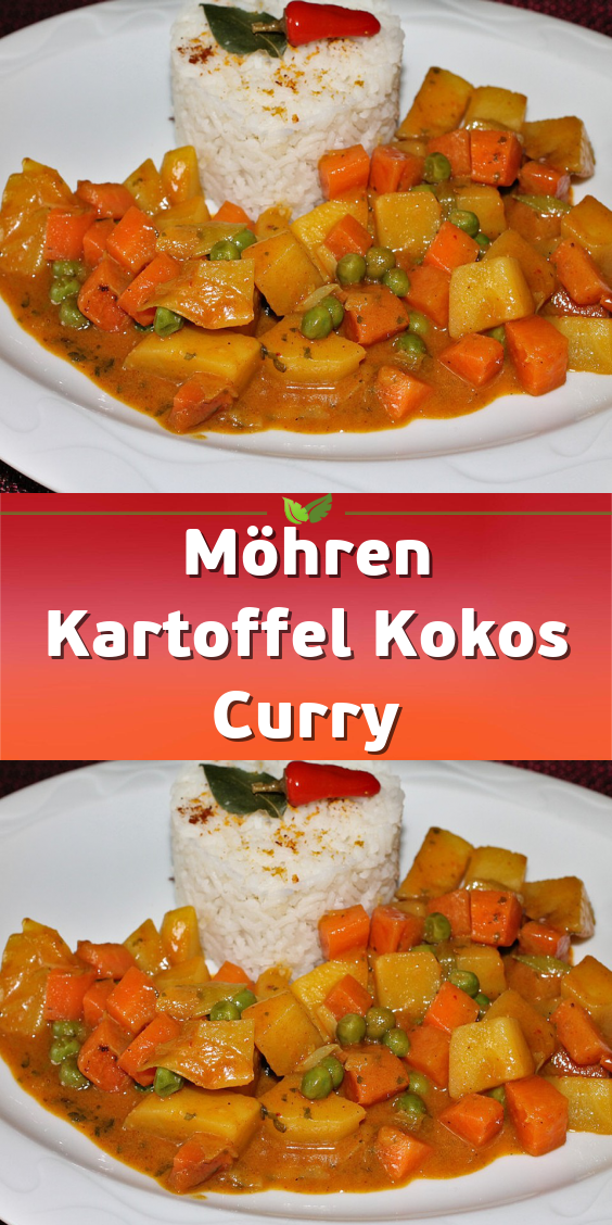 Photo of Carrot potato coconut curry