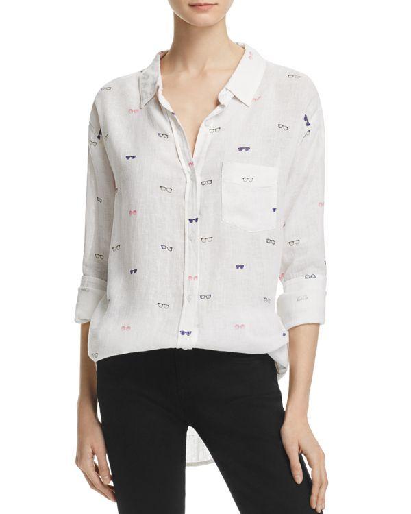 37c4b5c96f56 Rails Charli Sunglasses Print Button-Down Shirt | Style | Printed ...