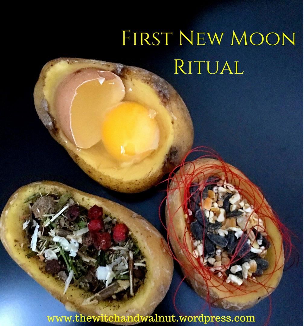 First New Moon Ritual #newmoonritual