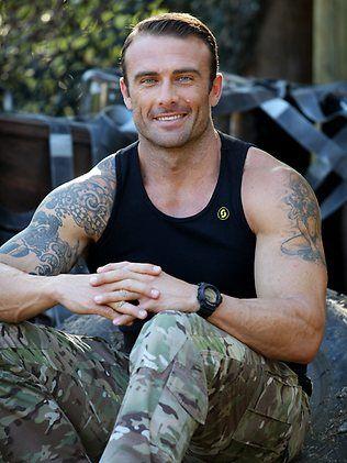 Steve Willis Commando From Australia S The Biggest Loser Commando Celebrity Workout Hard Men