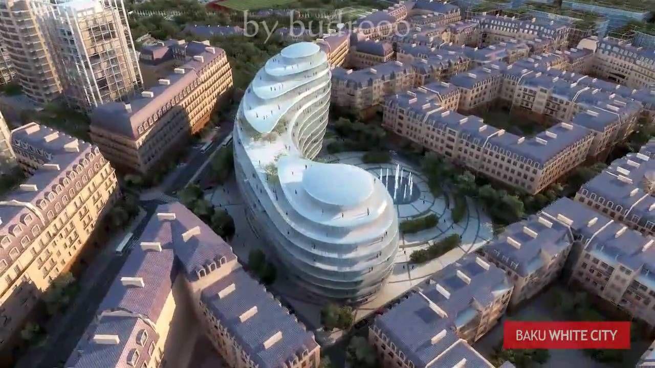 Baku White City Project White City City Building Concept