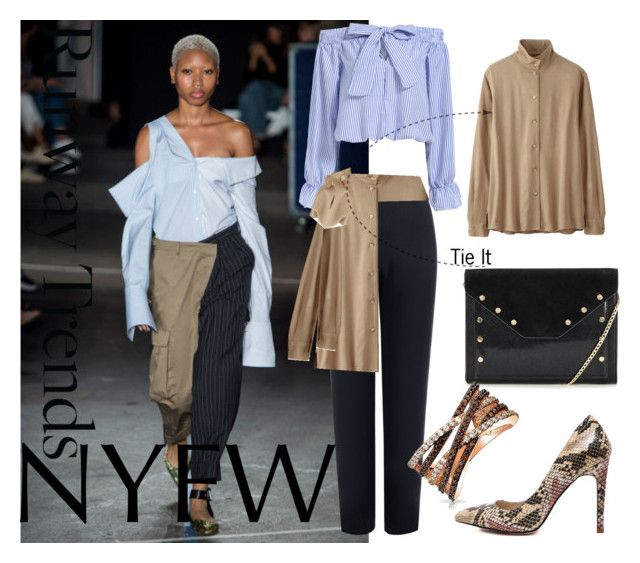 """""""NYFW Runway Trend"""" by coppin-s ❤ liked on Polyvore featuring WearAll, Uniqlo, Bling Jewelry and NYFW"""