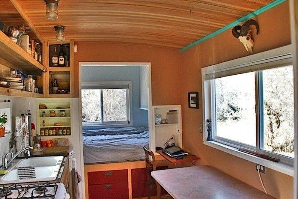 images about No Loft Mobile Tiny Houses on Pinterest