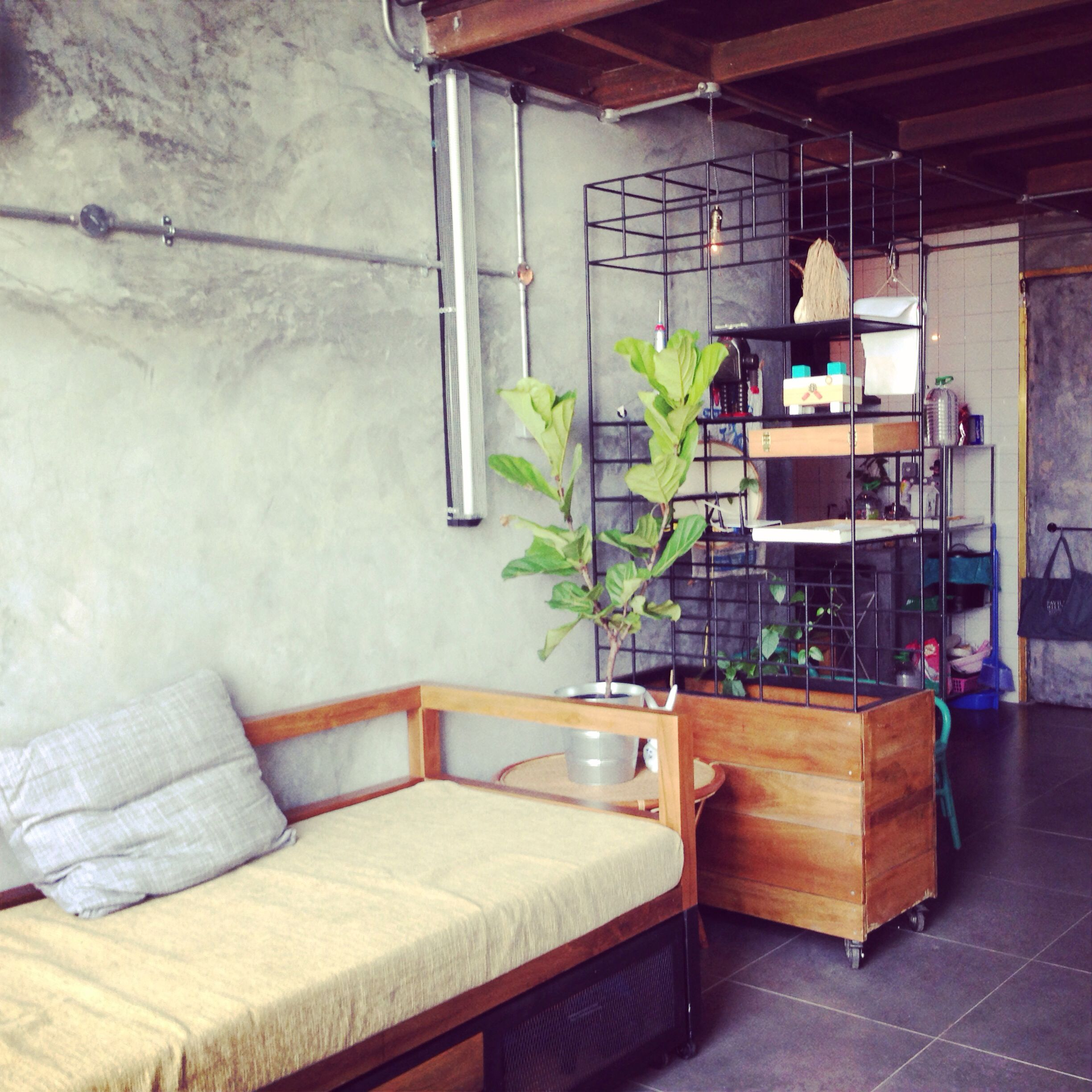 Small Unit Soho Living Room Loft Industrial Malaysia
