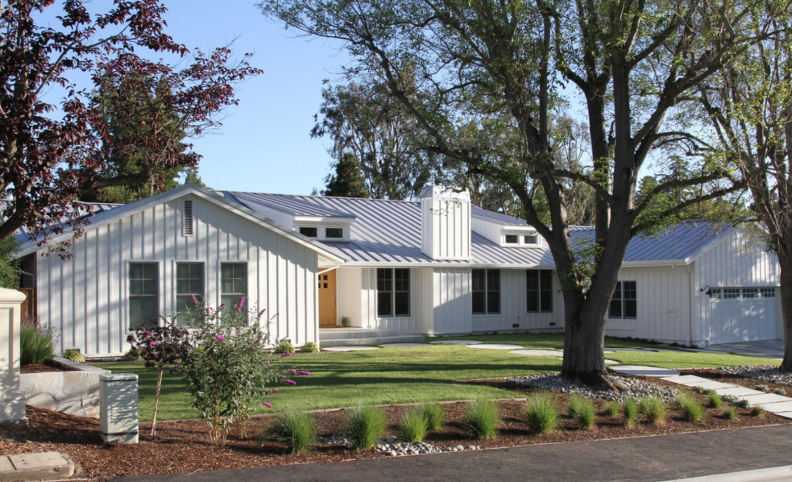 This is a remodel that included a 2nd story addition for Ranch style metal homes