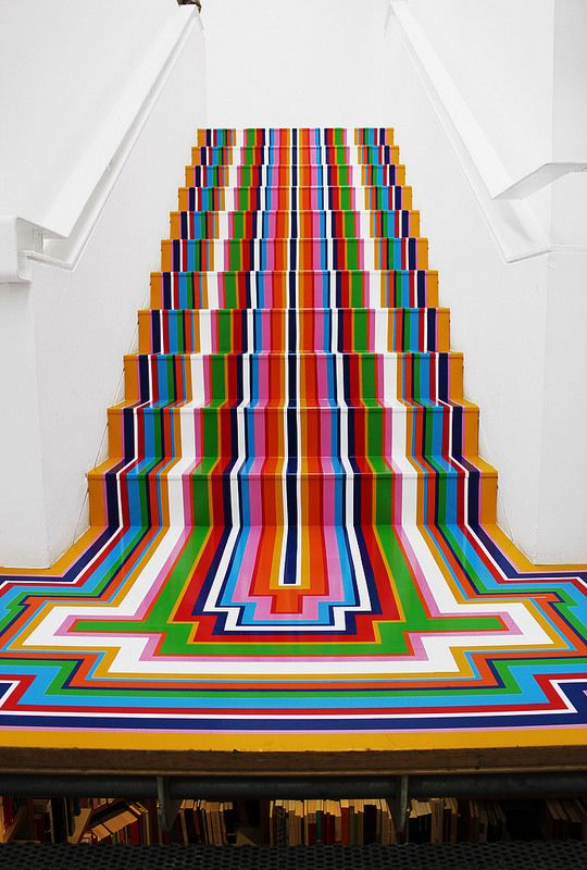 Paint the steps to the basement