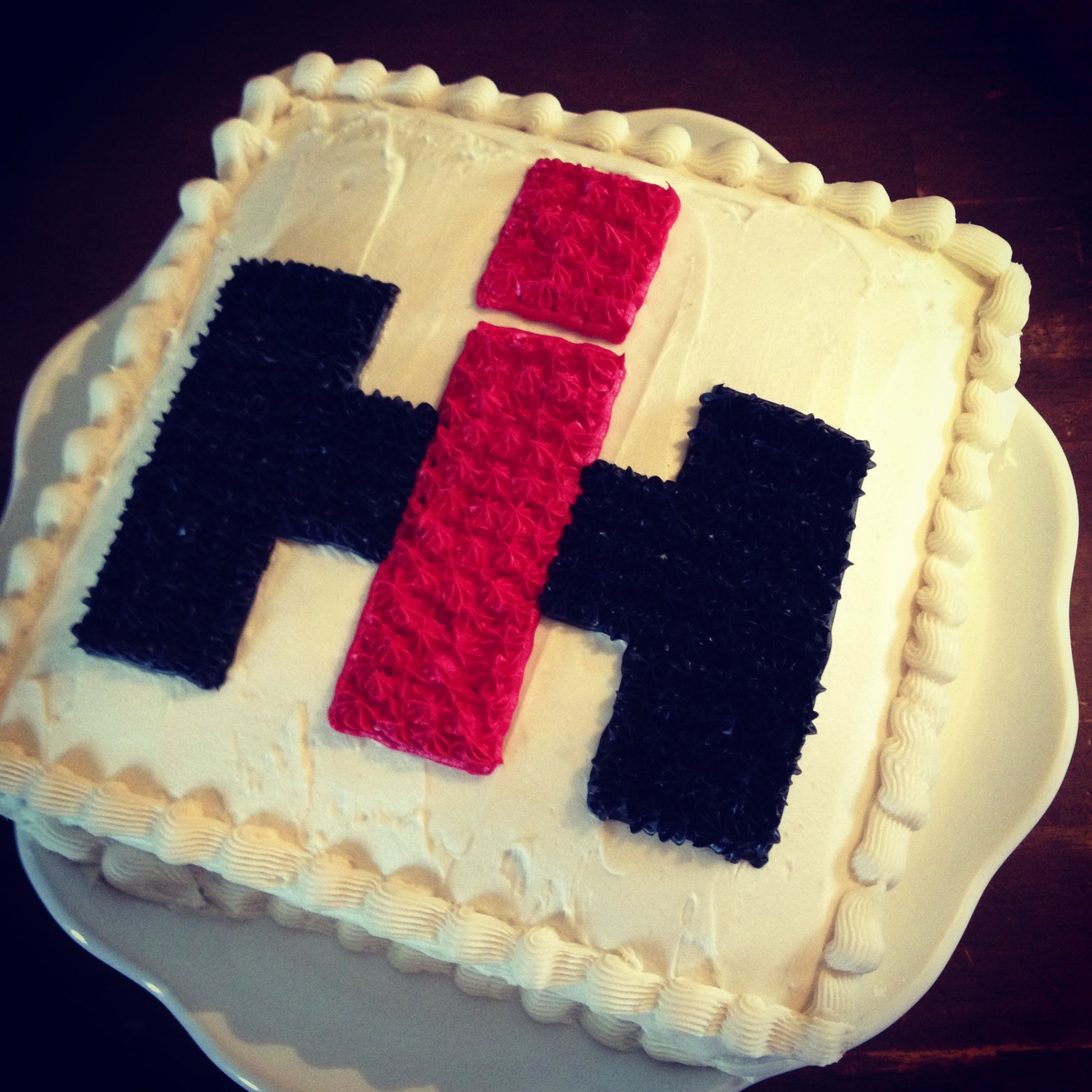 International harvester cake for my country man Made by me