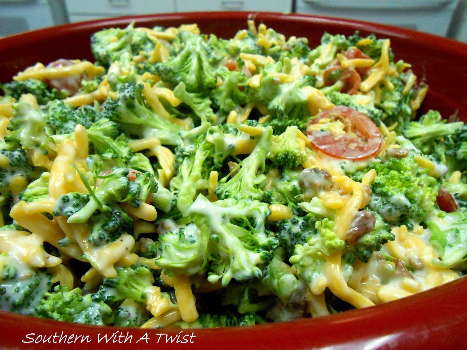 Southern With A Twist: Broccoli Salad