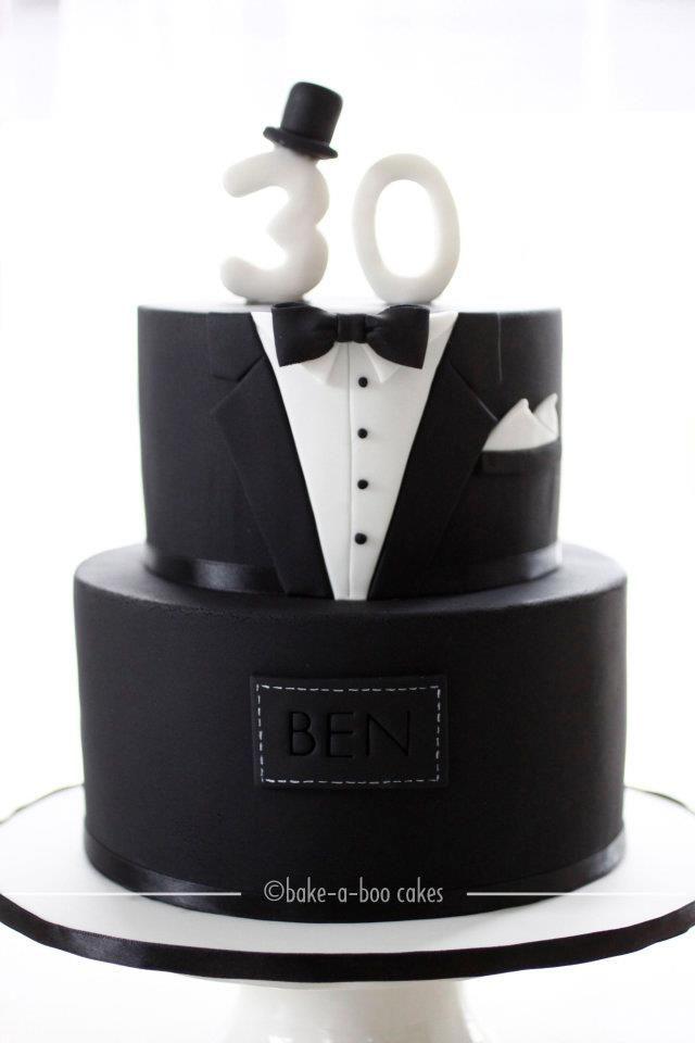 Fondant torte 30 geburtstag mann