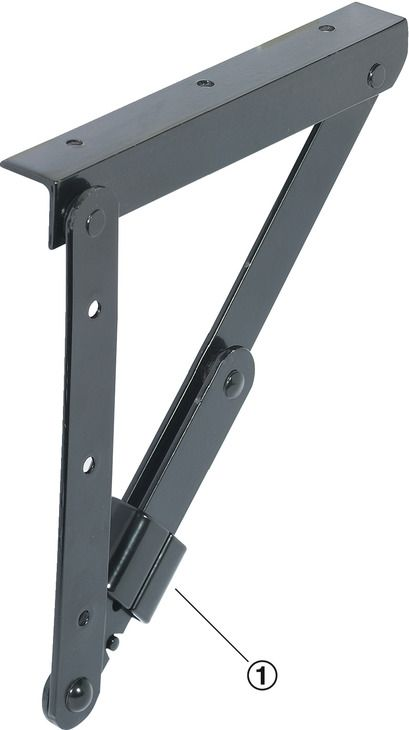 Peachy Folding Bracket For Tables And Benches Profile Dimensions Uwap Interior Chair Design Uwaporg