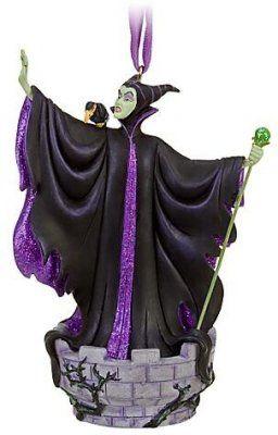Maleficent & Diablo sketchbook ornament (2010)