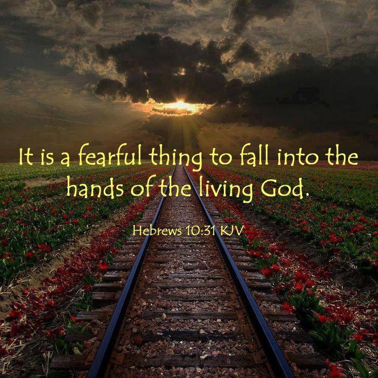 Hebrews 10:31 | Artistic pictures, Let go and let god, Hebrews 10