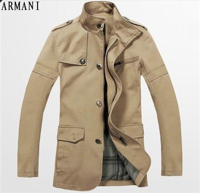 Men ARMANI M-XXL Coat - 0034   male style   Pinterest   Male style c74b34370cb