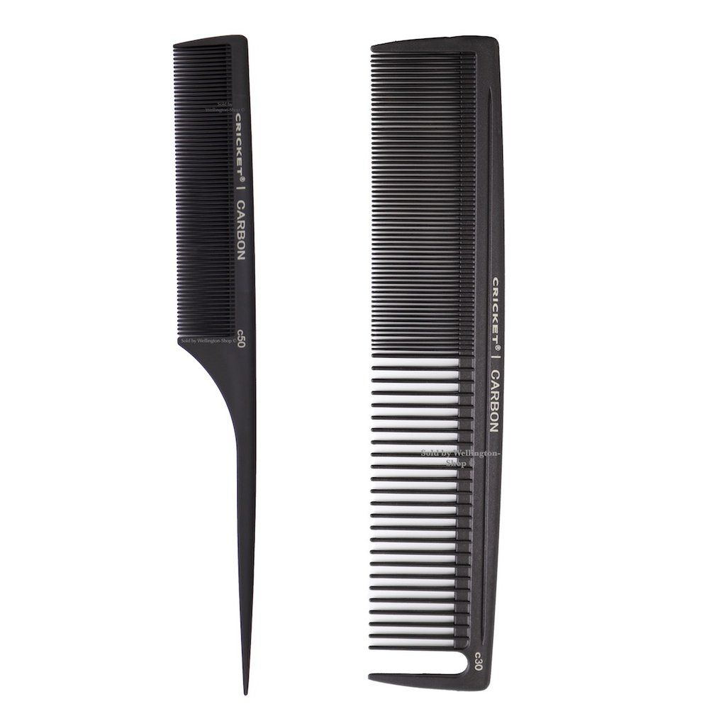 Cricket Hair Combs Set Fine Toothed Rattail Comb Barber Comb Heat Resistant Hair Comb Fly Away Hair Teased Hair