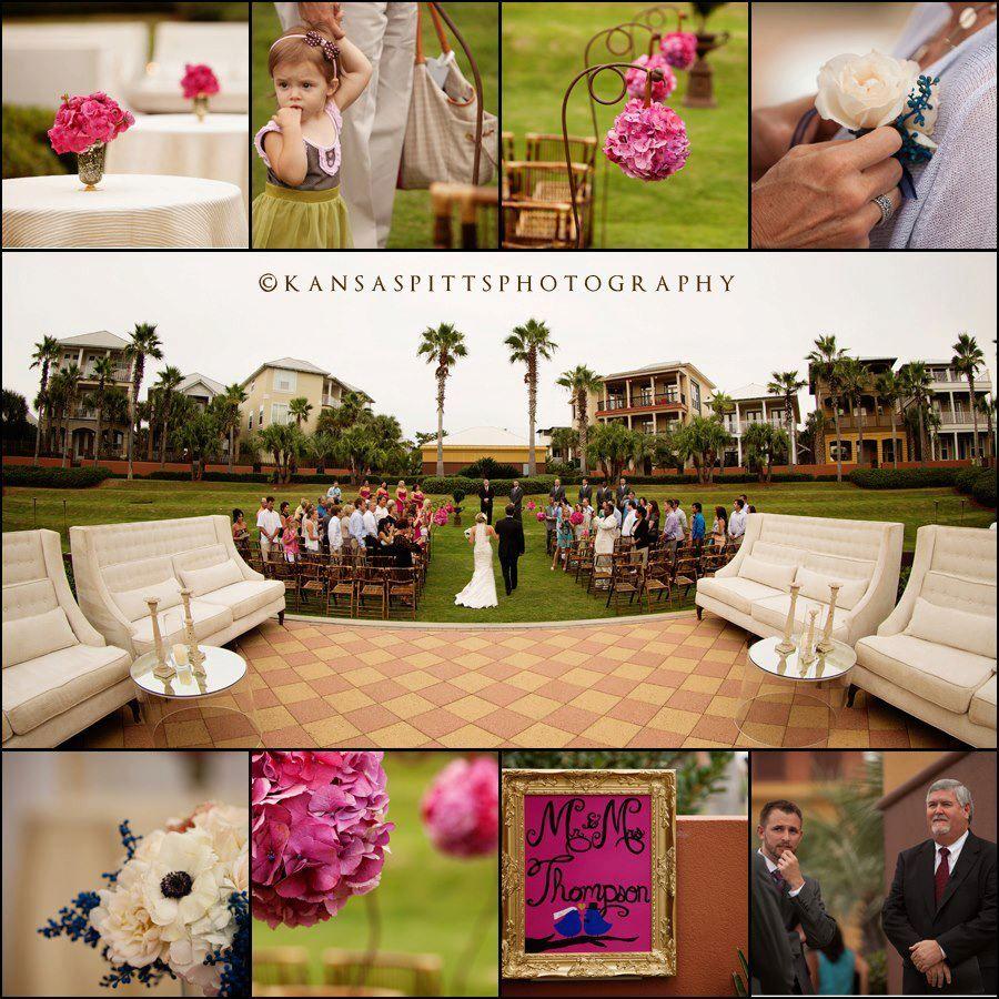 Destination Wedding For Audrey Jon C Pave Weddings Other Contributing Vendors Townsend Catering Nouve Destination Wedding Real Weddings Santa Rosa Beach