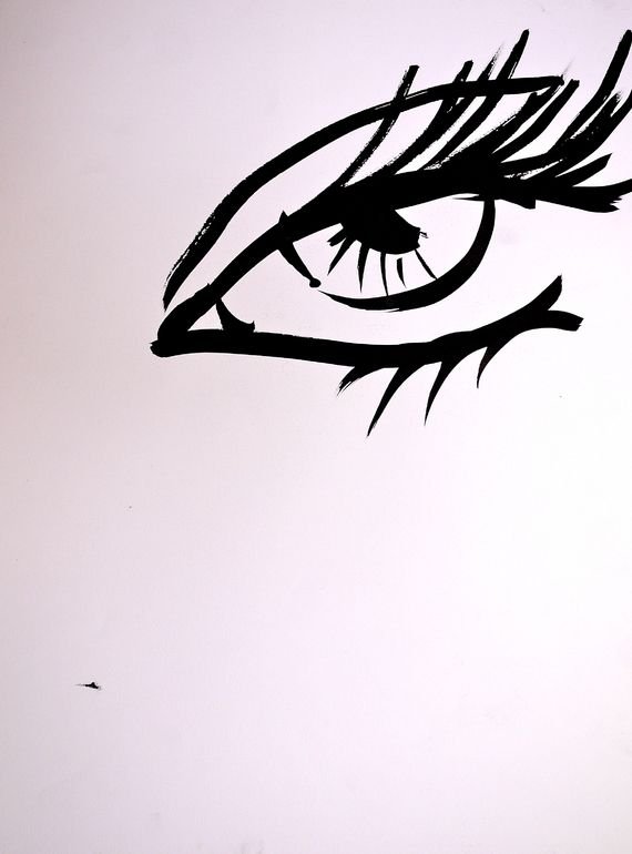 0a98b2418 Saatchi Online Artist: Oriela E Medellin; Pen and Ink, 2006, Drawing