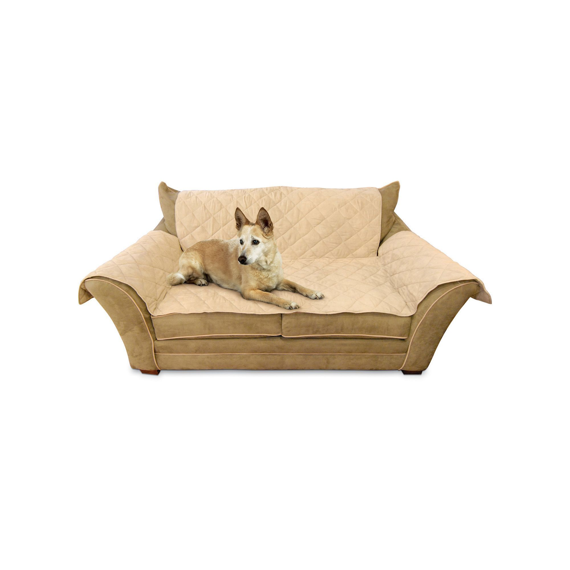 K and H Pet Furniture Cover Loveseat Pet Cover Brown