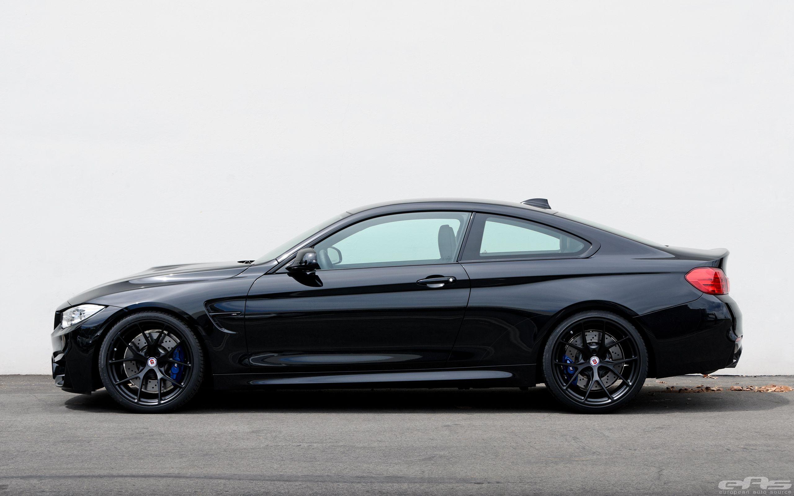 Black Sapphire Bmw M4 With Matte Black Hre Wheels Bmw M4 Bmw M4 Coupe Bmw