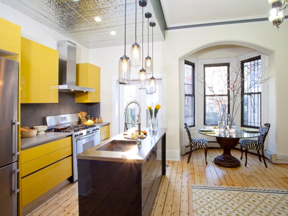 20 Small Kitchen Makeovers By Hgtv Hosts Hgtv With Images