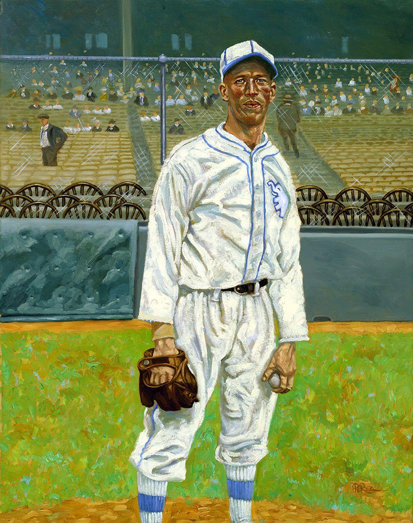 Baseball Art Lefty Grove By Dick Perez Sports Cards Baseball