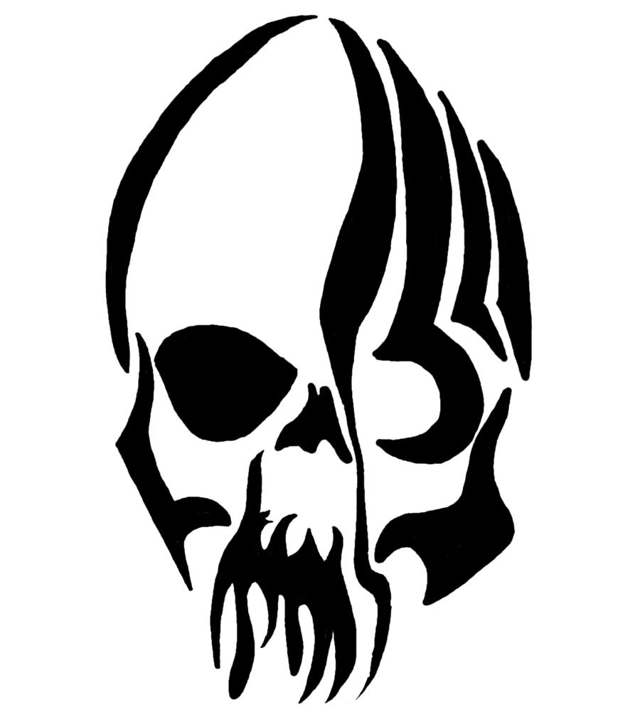 e492b1e33 Terrific Tribal Skull Tattoo Sample | Tattoos | Tattoo designs ...
