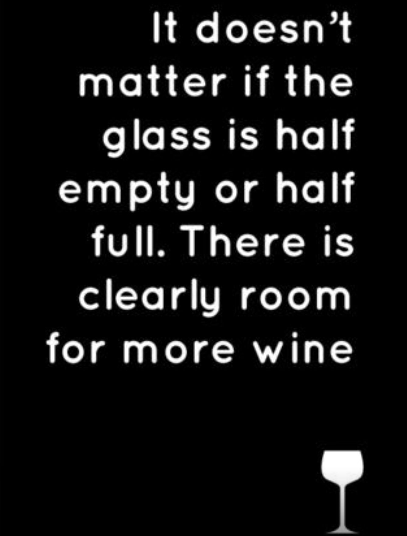 Glass Half Full Half Empty C1507 Thoughts Wine Quotes Quotes
