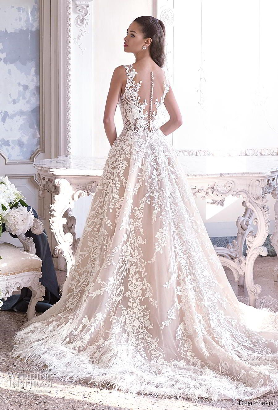 Platinum by demetrios wedding dresses blush wedding dresses