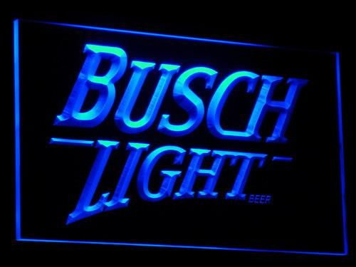 Busch Light LED Neon Sign   cave in 2019   Neon signs, Bar