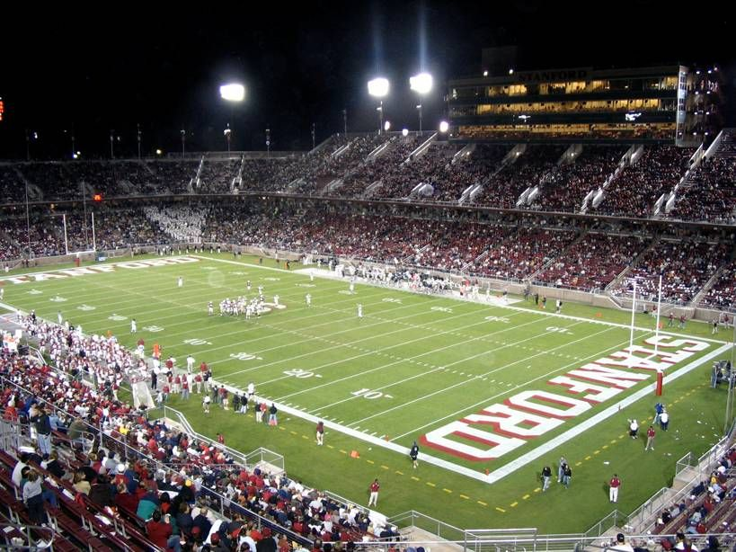 Stanford Stadium New Home For Stanford Cardinal Home Football Games Stanford Football Football Stadiums Stanford University