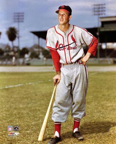 1949 Stan Musial Stan Musial American Baseball League Cardinals