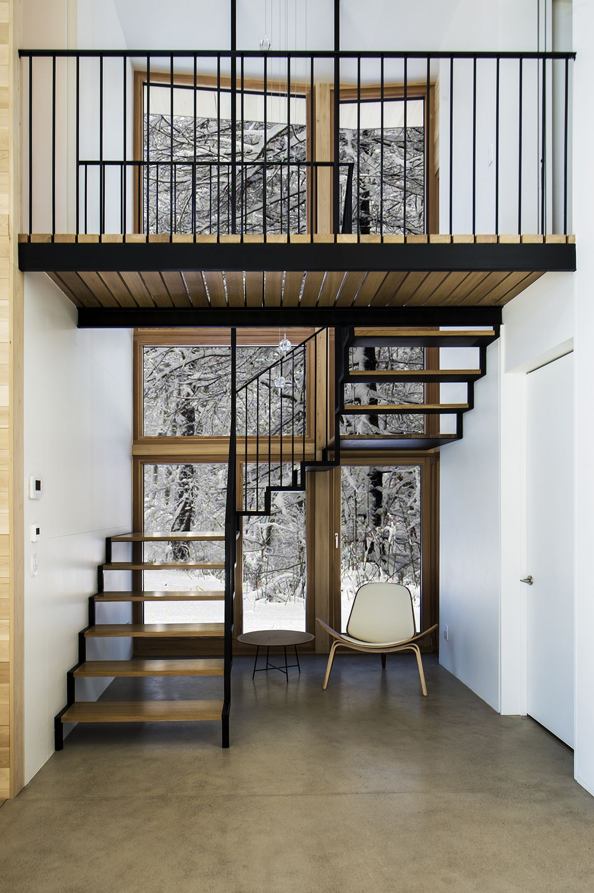 Elegant Mountain Contemporary Home In Colorado Radiates With Warmth: Yh2 — Yiacouvakis Hamelin, Architectes (With Images)