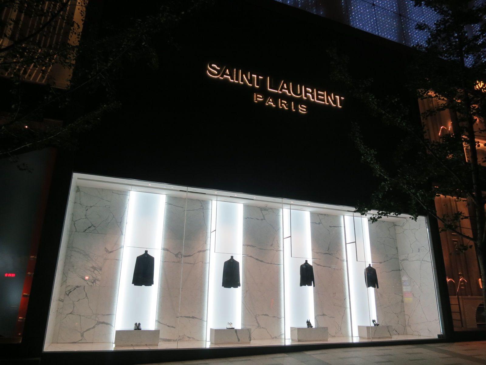 The Saint Laurent in Shanghai