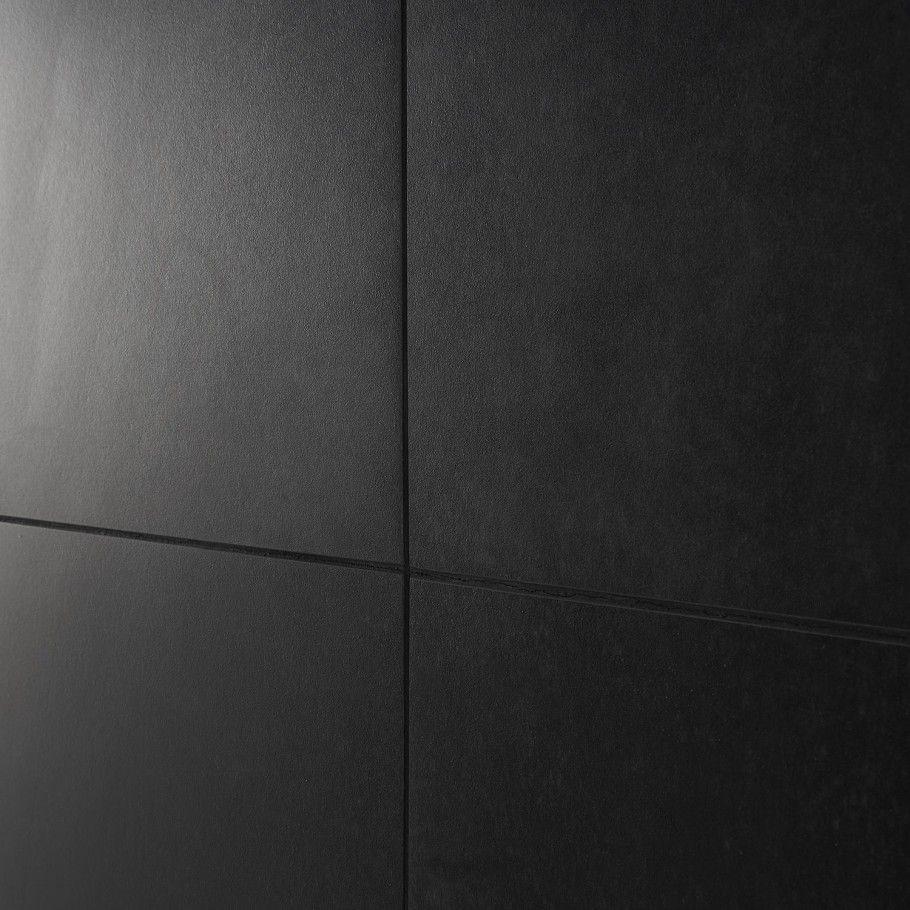 Lines Black 24x24 Matte Porcelain Tile In 2020 Black Porcelain Tiles Concrete Look Tile Fireplace Tile Surround