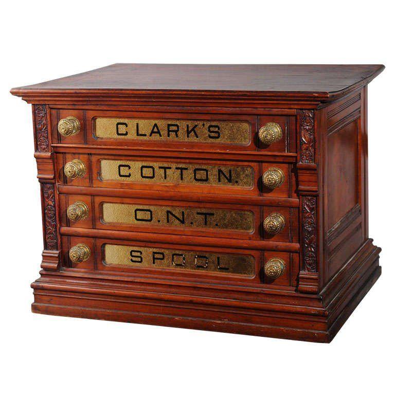 Victorian Spool Cabinet 1