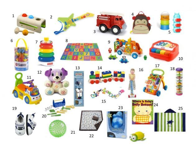 25 Gift Ideas For A First Birthday