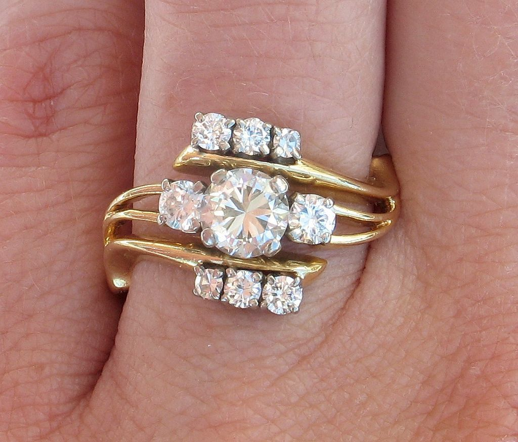 Buy This Valuable 18k JABEL 1.23ct Diamond Cluster
