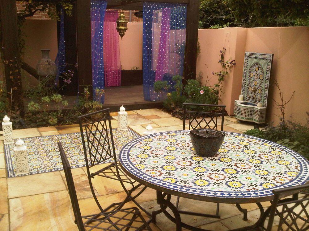 Moroccan Garden Design Greenwich London | quirky garden ideas ...
