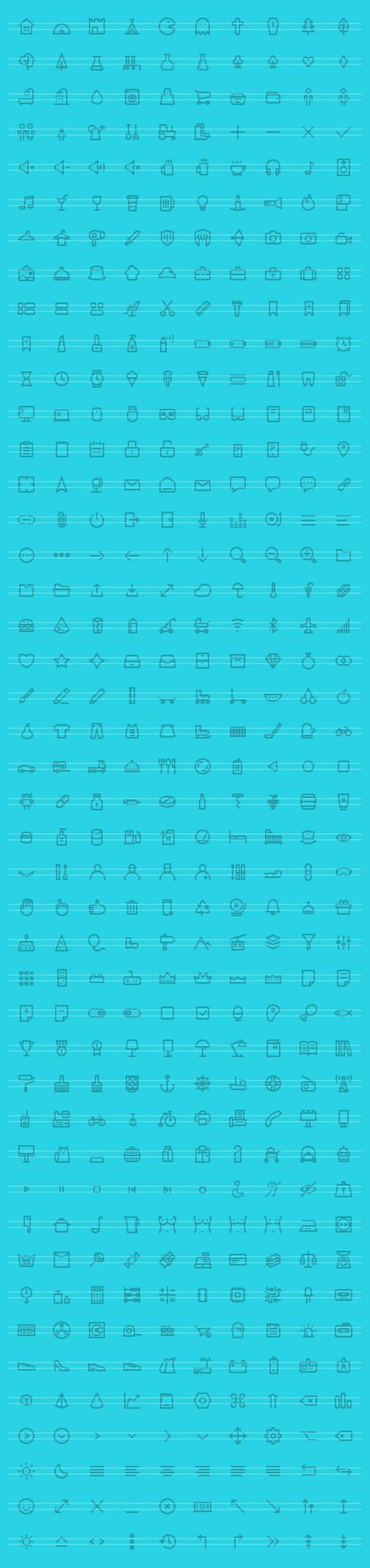 440 Awesome Vector Icons Free Download Vector icons