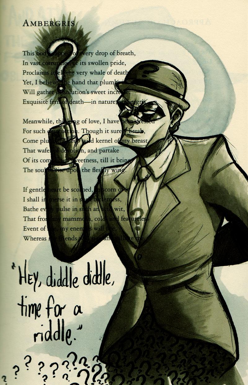 The riddler/Edward nigma! Batman Pinterest Batman