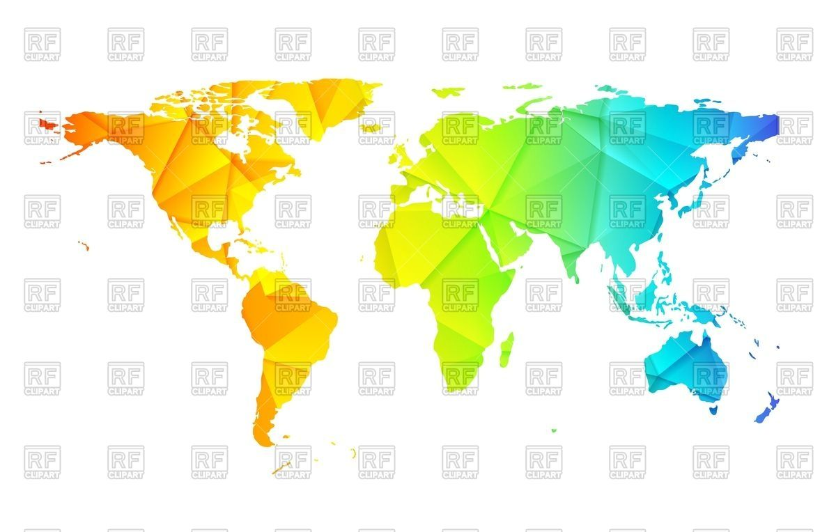 Royalty free vector image of low poly world map abstract background low poly world map abstract background royalty free vector clip art image 86923 rfclipart gumiabroncs Image collections