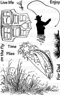 Time Flies Scraps And Cards Stamp Print Pictures