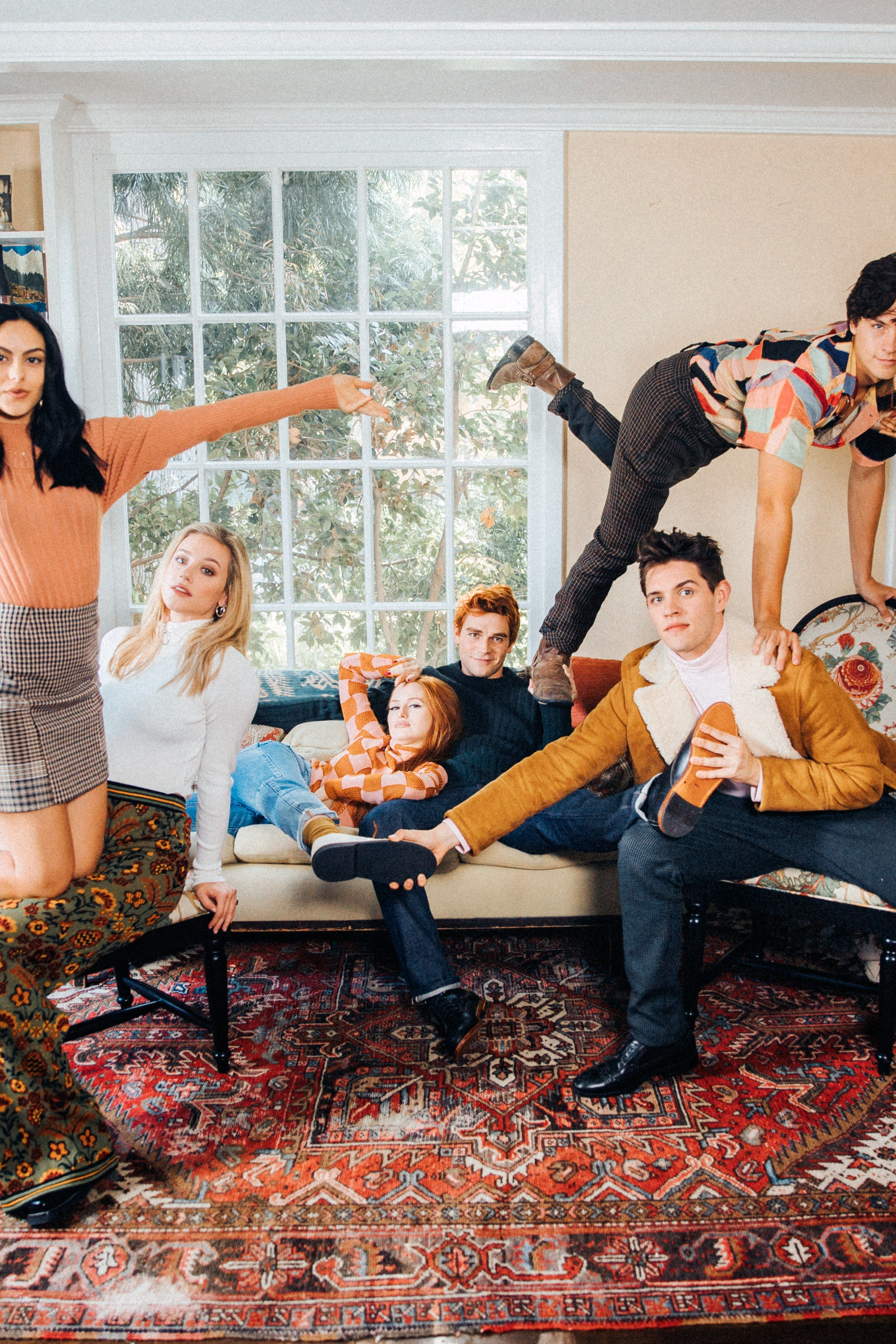 "The ""Riverdale"" Cast Rocked the COZIEST Looks Ever for"