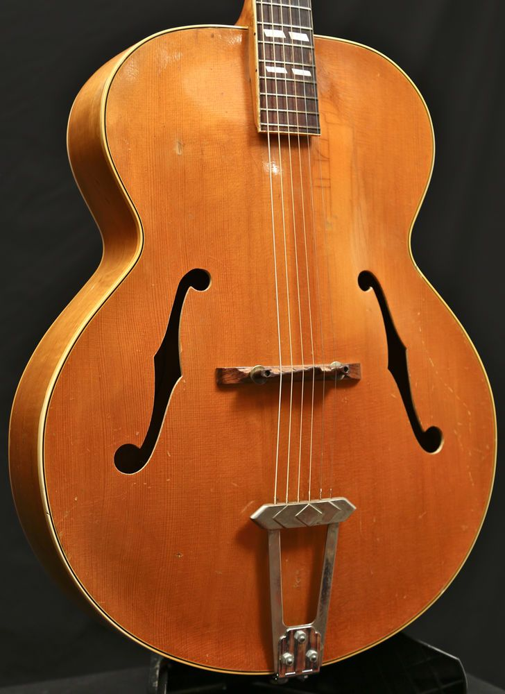 vintage 1940 gibson l 7 l7 n natural blonde archtop acoustic guitar grlc1425 musical. Black Bedroom Furniture Sets. Home Design Ideas