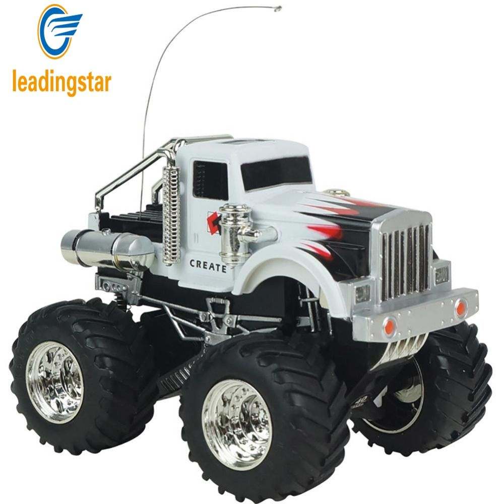 LeadingStar Remote Control Rock Crawlers Bigfoot Car 4 Channel 1 ...