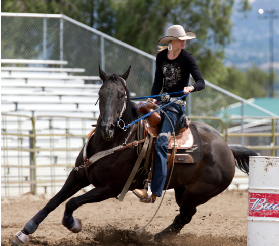 Barrel Racer Amberley Snyder In Any Aspect Of My Life I