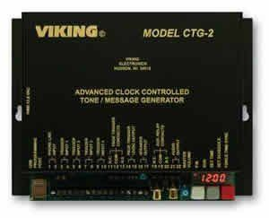 Viking Electronics Ctg 2 Advanced Clock Controlled Tone Entry